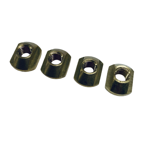 [FOIL-T-NUT-M8-4] Hydrofoil T-Nuts M8 Messing 4pcs